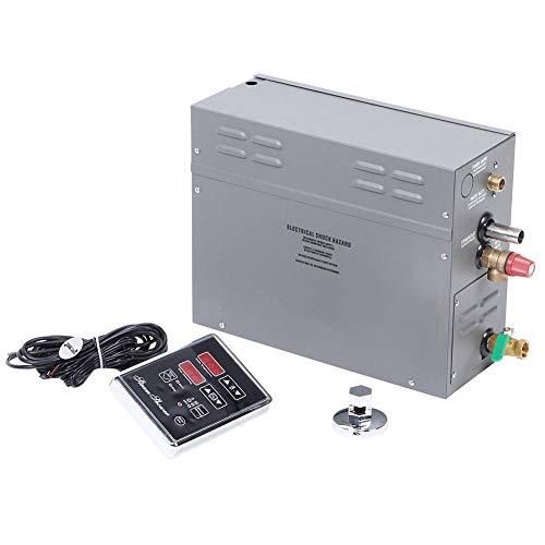Qinlorgo 6KW Generador de Vapor eléctrico para Sauna TM60 Panel de visualización...