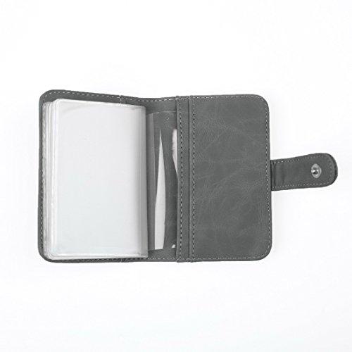 ECM14.01 Infinity Kunstleder Brieftasche / 4 Kartenhalter / 10 Extra ID Cases Von Epoint ECM1409-Grau