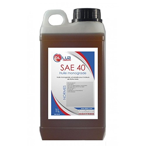 DLLUB – HUILE MONOGRADE SAE 40 – 1 litre pas cher