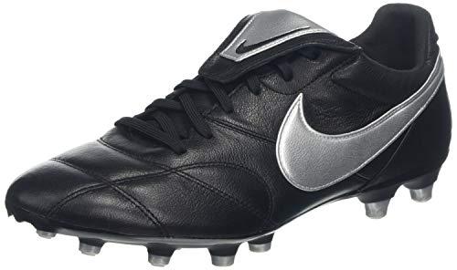 Nike Herren The Premier Ii Fg Fußballschuhe, Schwarz Metallic Silver-Black 011, 39 EU