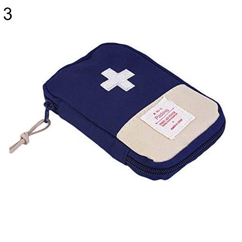 Lsgepavilion Outdoor Campeggio Portatile Kit di Primo Soccorso Borsa Valigia Pillola Tablet Custodia a casa di Sopravvivenza Medicina Storage Bag