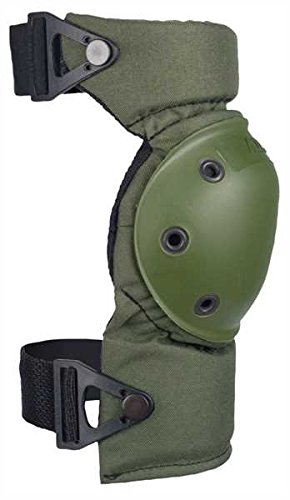 Hoch Taktische Unisex High Contour Knieschoner grün