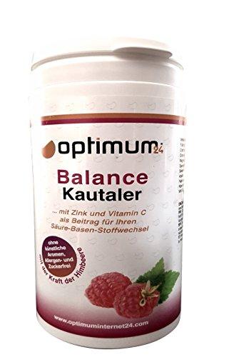 Équilibre acido-basique comprimés à croquer savoureux avec du calcium | 60 comprimés à mâcher pour votre équilibre acido-basique avec des sels minéraux et des vitamines| idéal avec la combinaison régime-sport-vegan