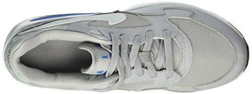 Nike Air Max St, Chaussures de Running Compétition Mixte Enfant Gris (Wolf Grey/White/Photo Blue/Blk)