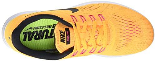 Nike Free Run 831509, Écharpe Donna Arancione (laser Orange / Black / Pink Blast)