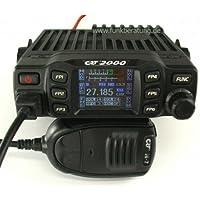 CRT 2000Multi Norma Radio CB dispositivo con AM/FM, TFT pantalla a color y muy muchas funciones