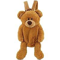 Bolso adorable del oso de la historieta de la felpa para el monedero de los niños