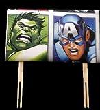 Kinder Disney Bett Kopfteil für Kinder W/über 20Zeichen: Hulk–Captain America–Avengers von inspirieren Häuser