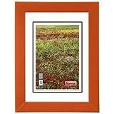 Hama Foggia Einzelbilderrahmen Orange - Bilderrahmen (Holz, Orange, Einzelbilderrahmen, 10 x 15 cm, 150 mm, 200 mm)