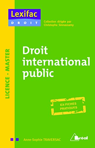 Droit international public par Anne-Sophie Traversac