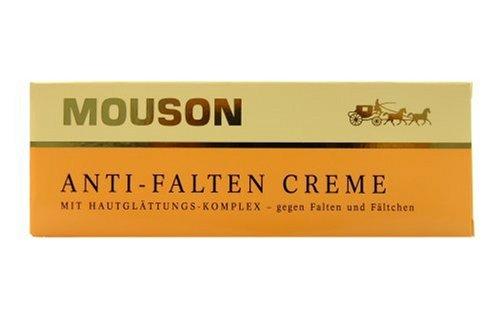 Mouson Anti-Falten Creme mit Hautglättungs-KomPlex 3er Pack (3x 75 ml)