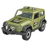 TianranRT Jeep Jouets Construire Votre À vous Prendre À part Jouet Gamme Kit Pour Garçon & Fille Meilleur Cadeau (Vert)