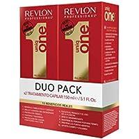 Uniqone Revlon - 2 Pezzi All in One Spray Senza Risciacquo Trattamento Capelli - 150 ml