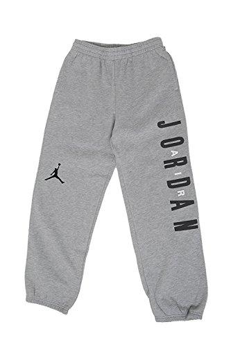 Jordan Big Boys' Graphic Fleece Hose (M (10-12 Jahre), Dunkelgrau/Schwarz) Boys Graphic Fleece