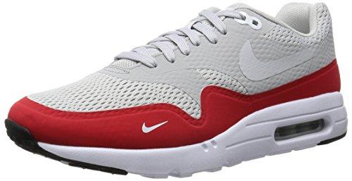 Nike Air Max 1 Ultra Essential, Chaussures de Sport Homme gris - Gris (Ntrl Grey / Unvrsty Rd-White-Blk)