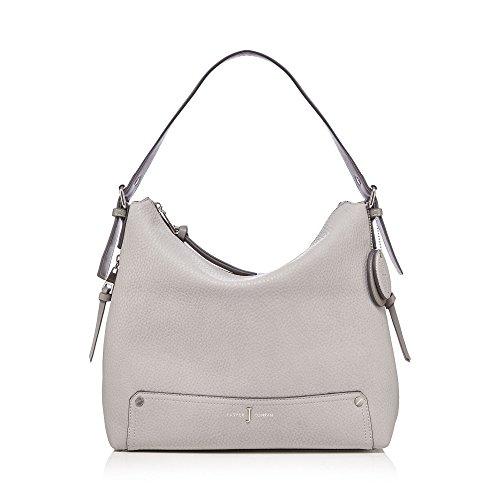 j-by-jasper-conran-womens-grey-zip-detail-shoulder-bag