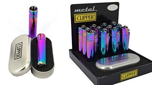 clipper-feuerzeug-new-mix-farbe-blau-grn-purple-metal-flint-in-metall-geschenkbox