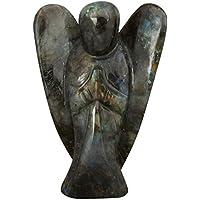 CRAFTSTRIBE Labradorite Reiki Energiegeladenes Geschenk Angel Spiritual Crystal Stone Home Décor preisvergleich bei billige-tabletten.eu