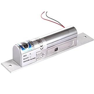 HFeng Bloqueo electromagn/ético de control de acceso 60 kg//132lbs electr/ónico cierre magn/ético DC12 V Fail Safe NC Mini peque/ño cerradura de puerta para sistema de seguridad el/éctrica