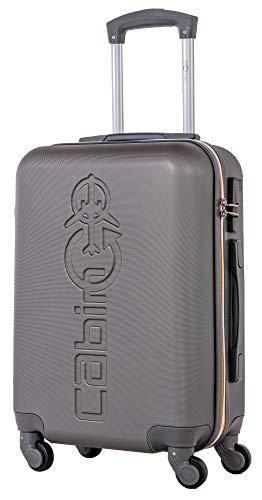 CABIN GO MAX 5571 - Trolley rigido in ABS grande valigia con ruote, 55 cm utilizzabile come bagaglio...