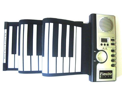 61 Tasten Midi tragbaren elektronischen Digital Weiche Klaviertastatur Tragbarer Rolle-Up Flexible MIDI Geschenkbox - Kompakte Flexible Tastatur