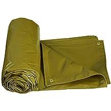 Yetta Carpa Exterior Carpa Impermeable Resistente para Camiones Cubierta de Lona Carpaulin Sombra (Color :