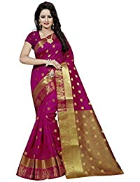 Nirja Creation Women's Cotton Silk Saree With Blouse