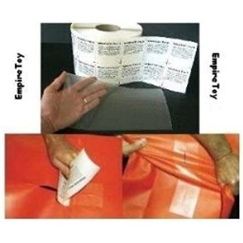 RV Camper Awning Canvas Cloth Tent Hole Repair Patch - Tear Aid 6 x 12 Patch A by Tear Repair