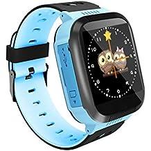 MXYBX Reloj Inteligente para niños, Pantalla táctil, Deportes, Reloj Inteligente, podómetro,