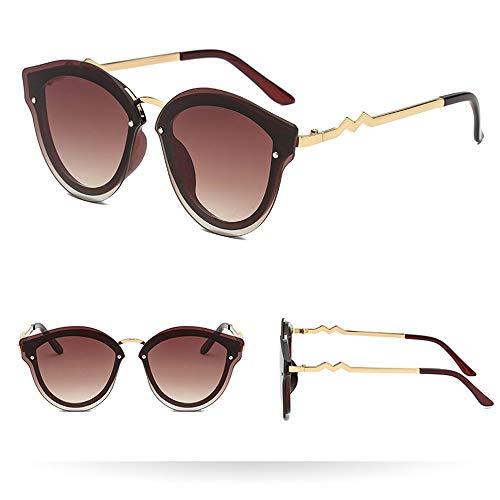 Produp Womens Mens Fashion Leichte Vintage Retro Kunststoffrahmen Unregelmäßige Sonnenbrillen Sonnenbrillengläser