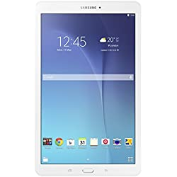 Samsung SM-T560NZWABTU Galaxy Tab E 9.6 Inch Wi-Fi Tablet, (White), (Intel Quad-Core 1.3 GHz, 1.5 GB RAM, 8 GB ROM, Android 4.4), UK Version