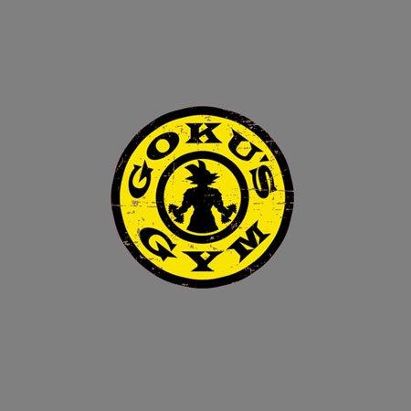 TEXLAB - DBZ: Gokus Gym - Herren T-Shirt Oliv