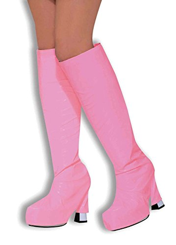 Go Go Boot Tops. Pink Accessory Fancy Dress