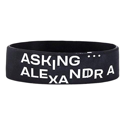 Asking Alexandria The Black Armband (Schwarz) (Asking Alexandria-armband)