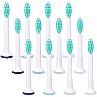 Jiaggo Têtes de Brosse à dents de Rechange pour Philips Sonicare ProResults Standard, Compatible avec...