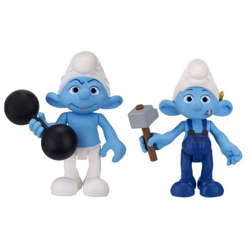 smurfs-movie-basic-figure-pack-wave-2-hefty-smurf-and-handy-smurf-by-smurfs
