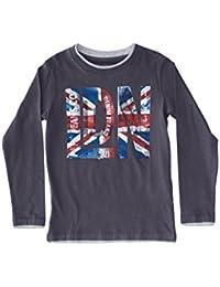 Pepe Jeans London Camiseta Manga Larga Denis Gris Oscuro 6 años (116 cm)
