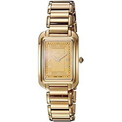 Fendi Women's F701435000 Classico Analog Display Analog Quartz Gold Watch