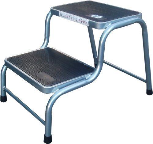 Preisvergleich Produktbild Doppelter Schritt Wohnwagen Stuhl Stahl Gummi Rutschfest Kissen