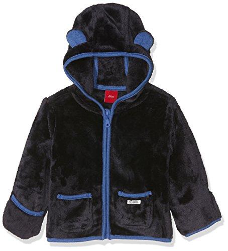 s.Oliver Baby-Jungen Sweatshirt 65.710.43.4958, Blau (Blue 5959), 68