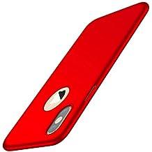 Funda iPhone XS MAX 2018, Ultra Ligero Suave Sedoso PC Carcasa Protectora de teléfono Case