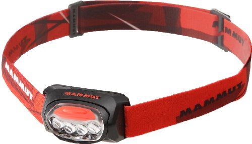 Mammut Stirnlampe T Trail – Black – one size
