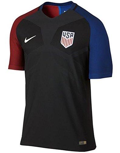 2016-2017 Nike uns Authentische entfernt Dampf Jersey (schwarz) (S) (Entfernt Jersey S/s)