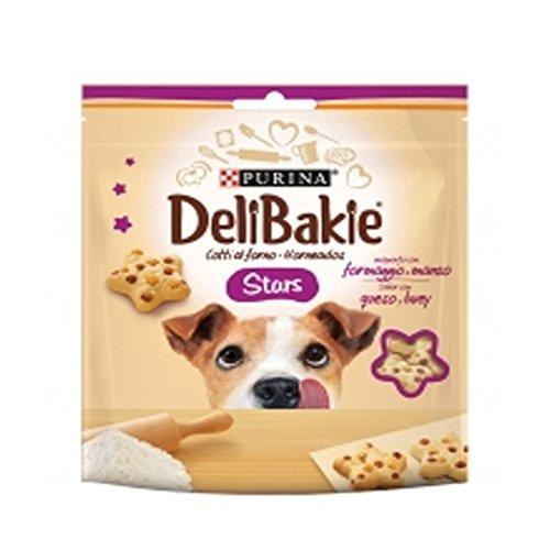 6 purina deli bakies hearts snack formaggio e manzo biscotti per cani al forno