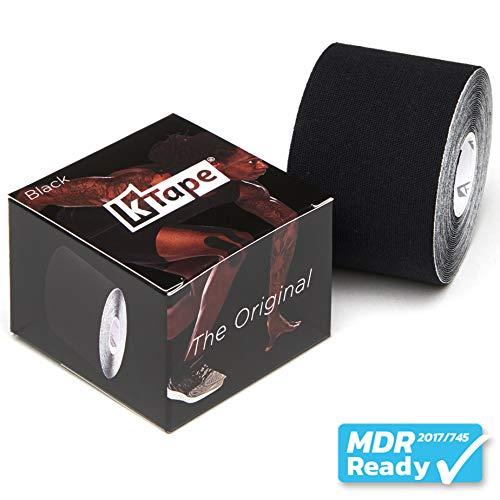 K-Tape Schwarz (Einzelrolle, 5cm x 5m)