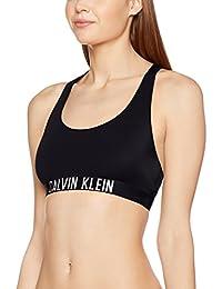Calvin Klein Racer Back Bralette, Soutien-gorge sport Femme