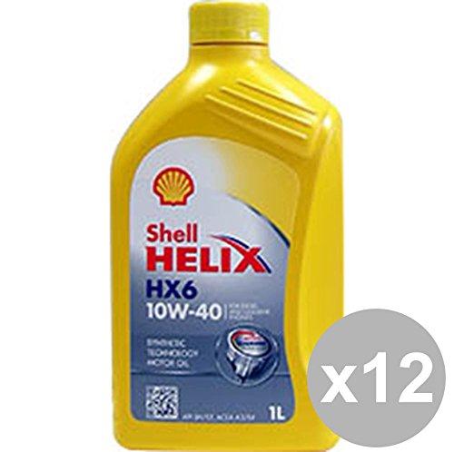shell-set-12-huile-shell-helix-hx6-10w40-1-accessoires-l-lubrifiants-entretien-automobile