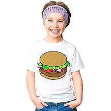 Weyeei Niños y niñas Patrón de Manga Corta T-shirt Cómodas Camisetas Tops