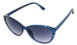 SHVAS UV Protection Cat Eye Womens Sunglasses [CATCALLBLU]