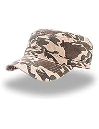 Cappellino Uomo Donna Berretto Stile Militare Mimetico Cotone Atlantis  Uniform 2e957a59c07e